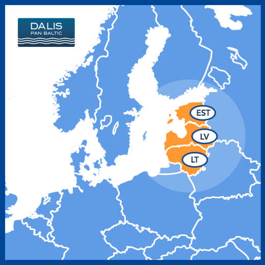 FMCG Baltic map