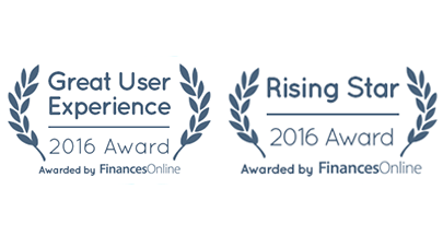 great user experience and rising star awards in project management software