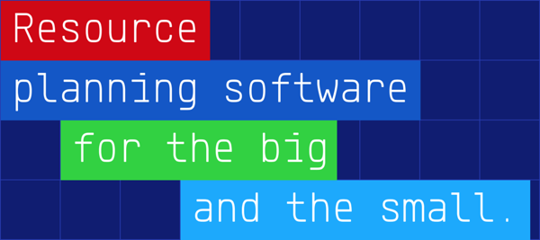 resource planning sogtware for the big an