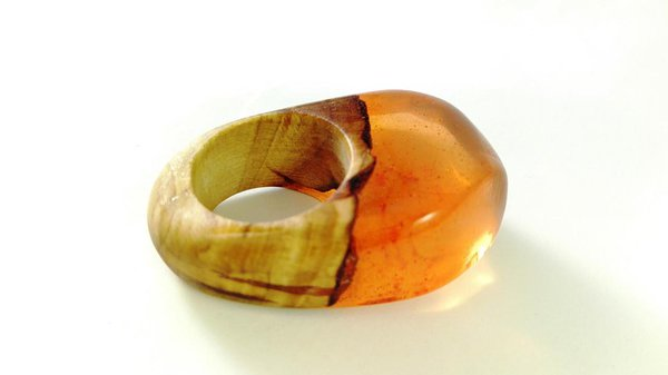 Wooden handcrafted jewelry