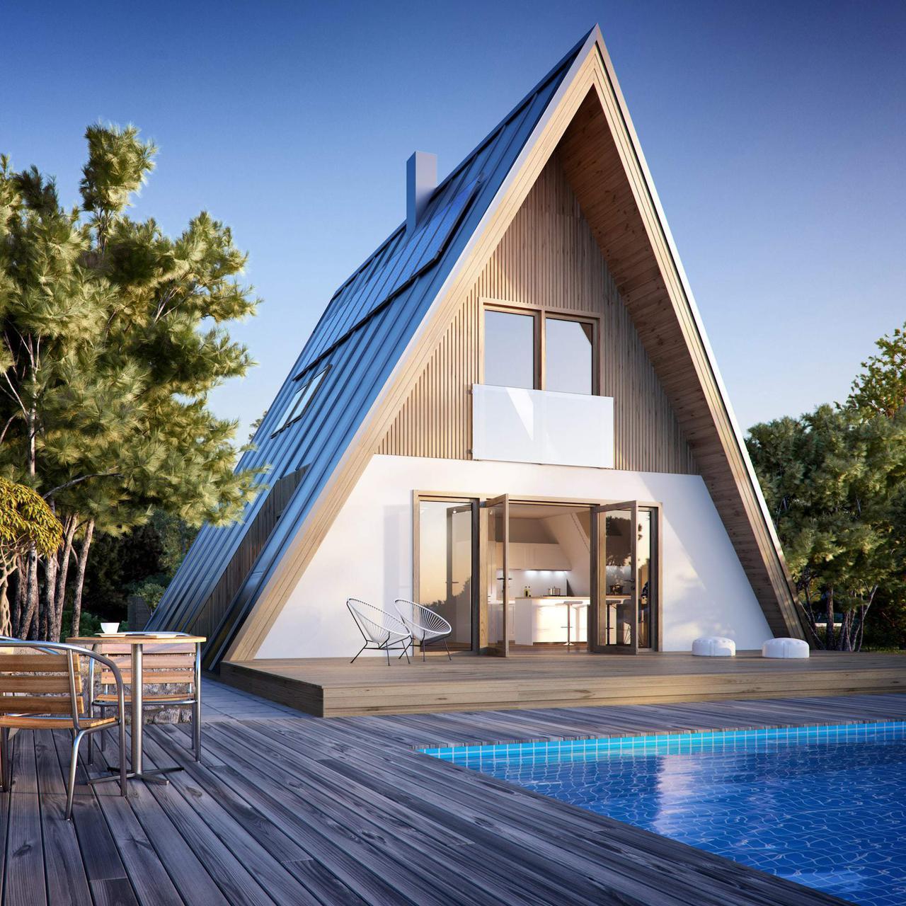A-frame homes