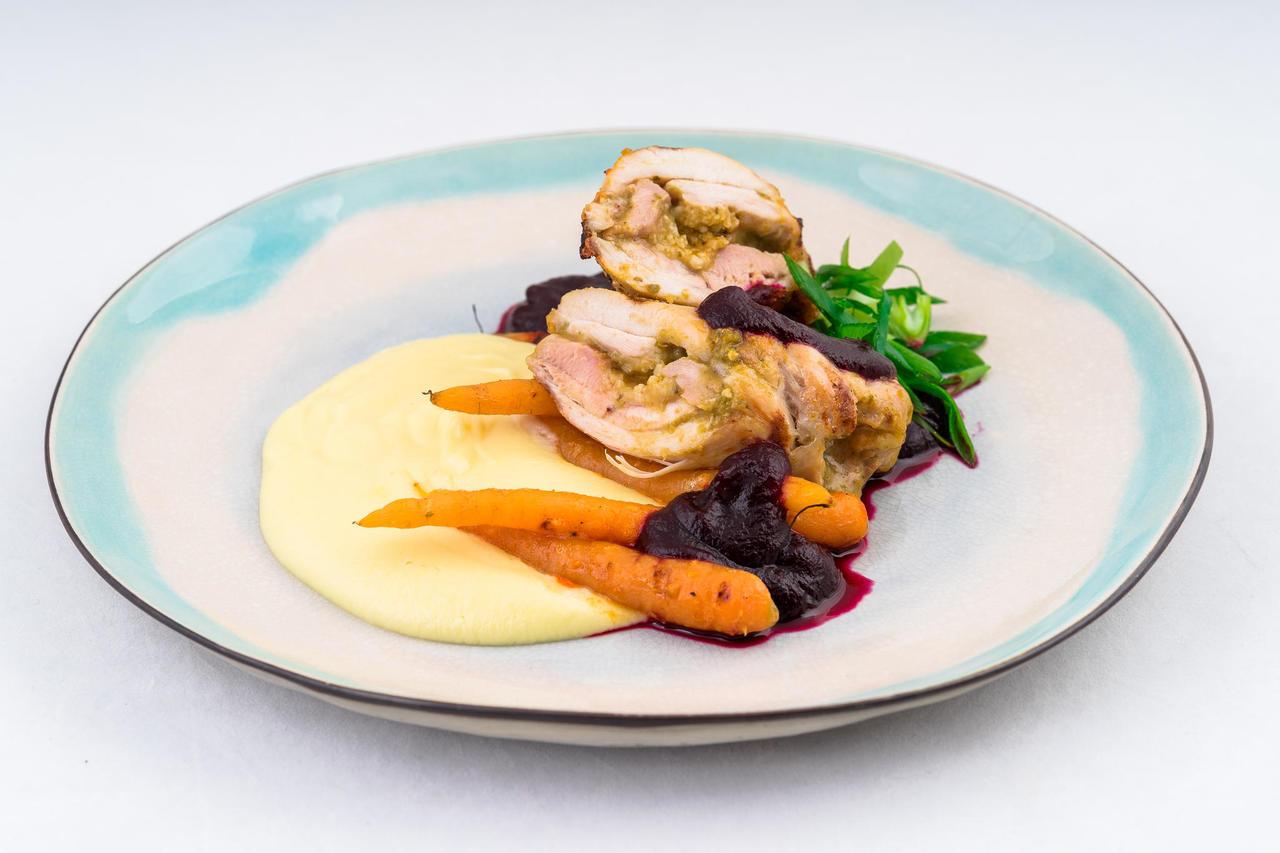 Sütel grillitud kanarull