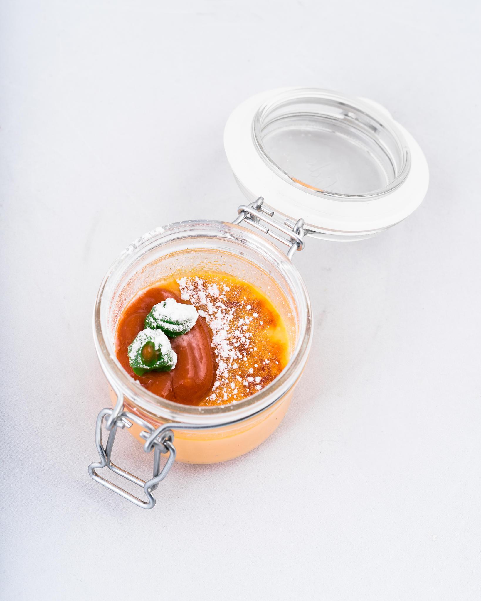 Porgandi Crème brûlèe