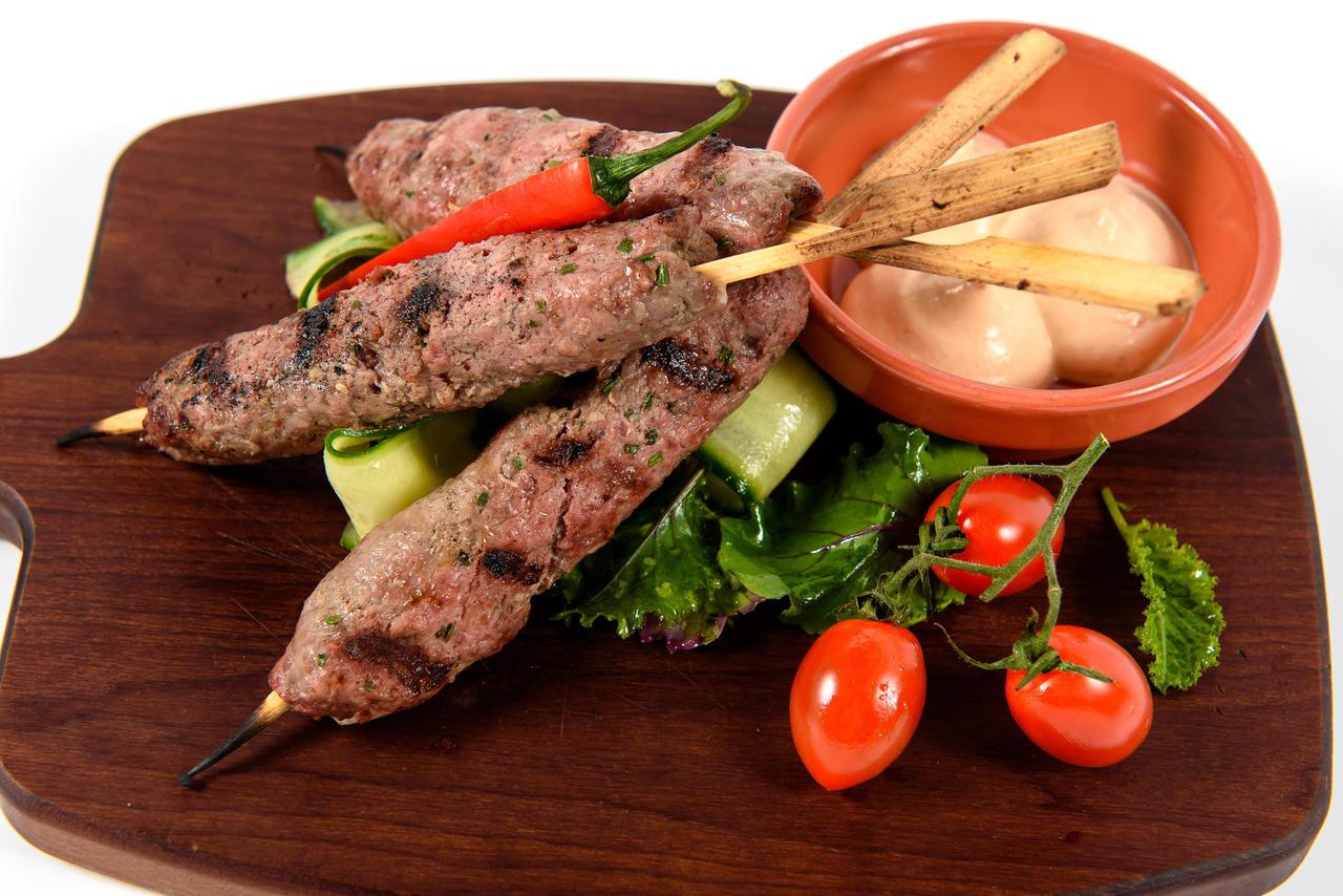 Estonian beef kebab