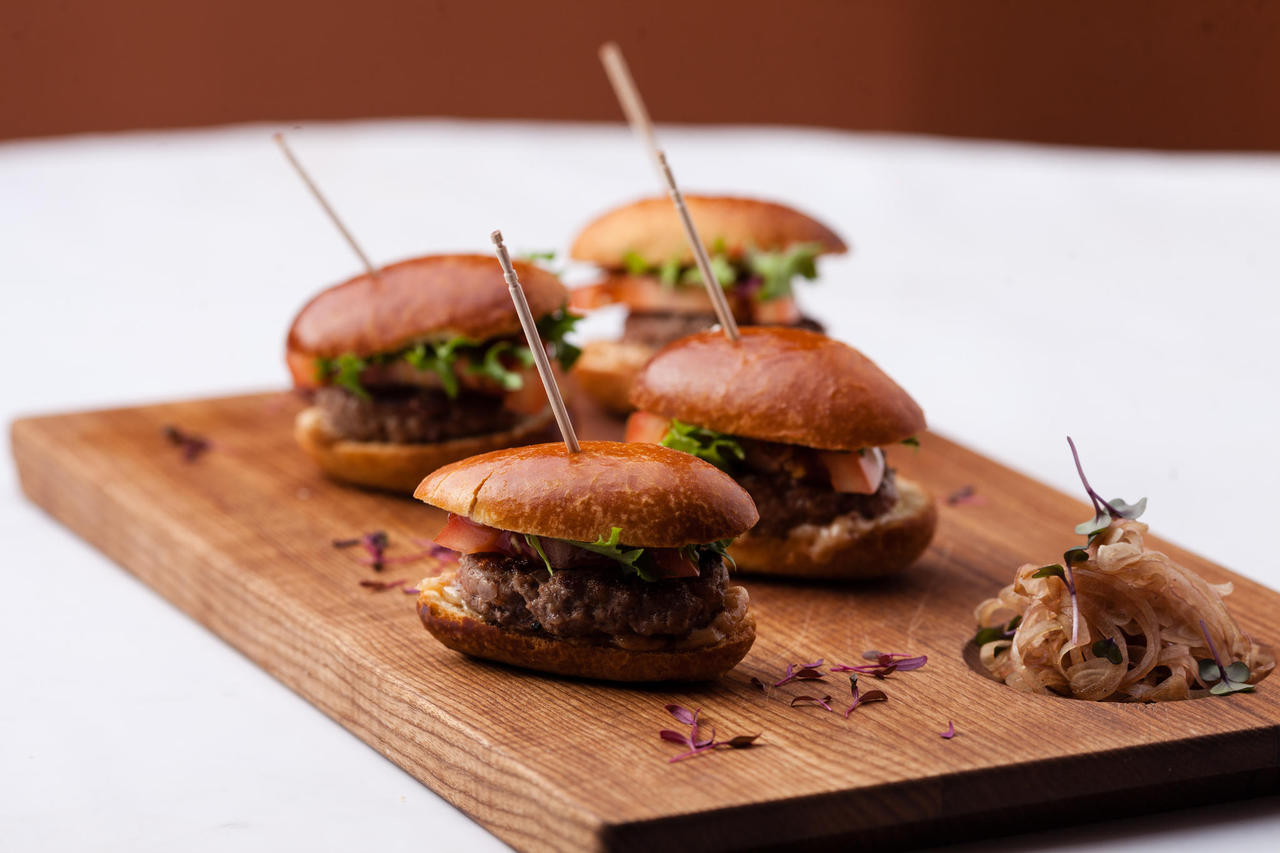 Estonian beef Mini-burgers (4pcs)