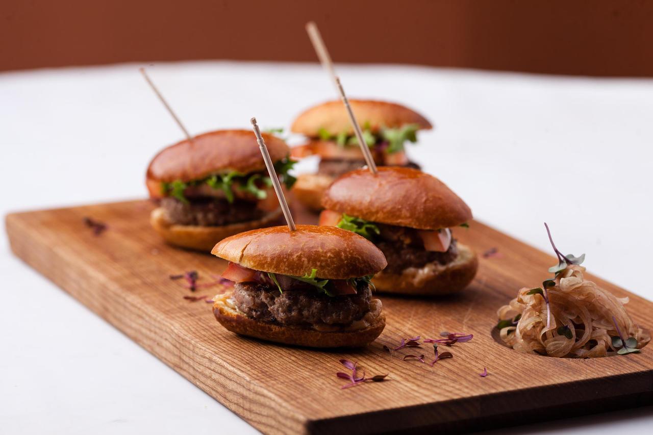 Mini-burgers (4 pcs)