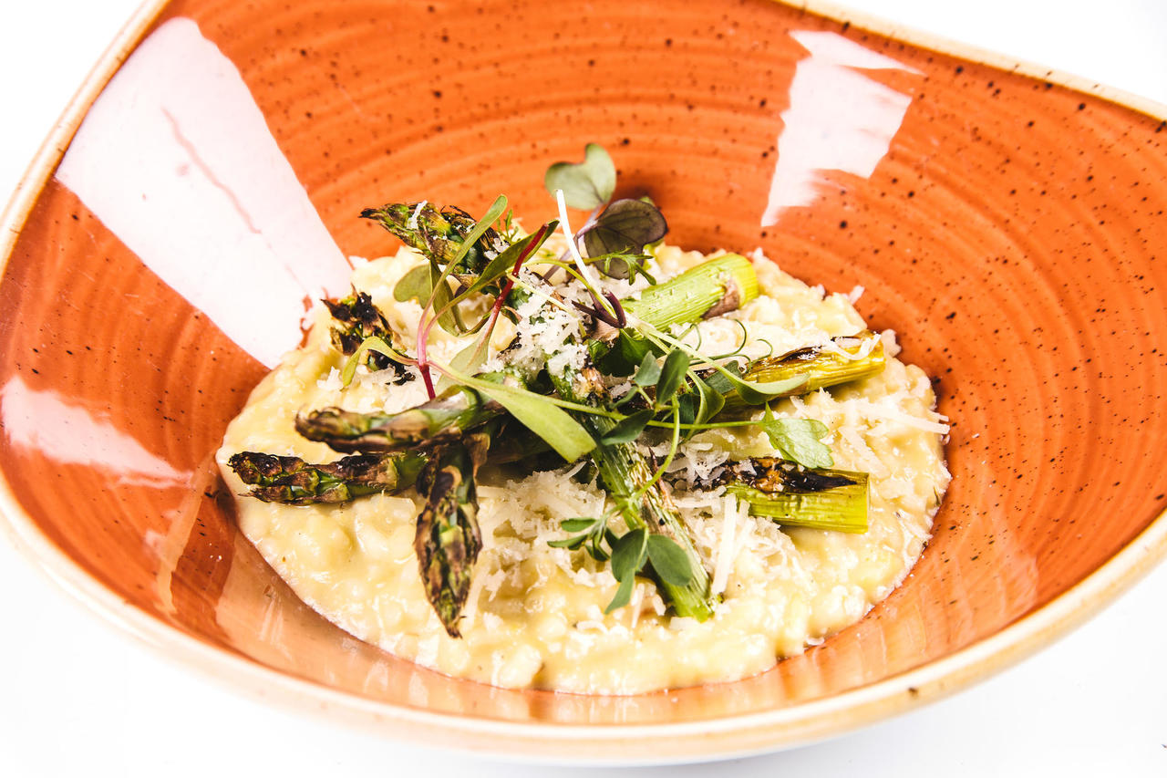 Seasonal risotto