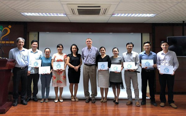 2018 Sept - Entrepreneurship course in Hue - Jaanus Pikani