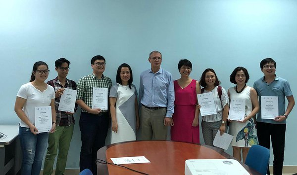 2018 Sept - Entrepreneurship course in Hanoi - Jaanus Pikani