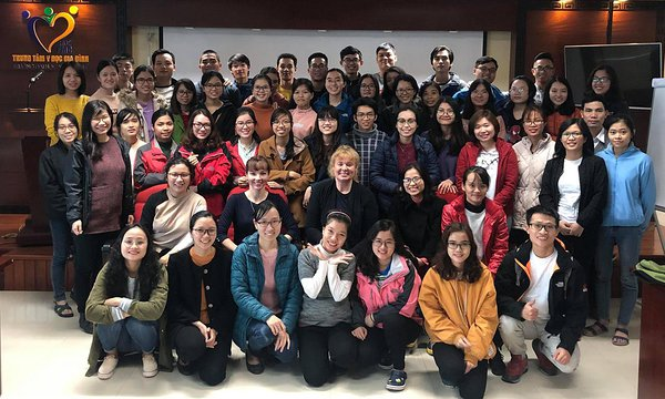 2019 Jan - Dentistry course in Hue - Anne-Ly Elhi and Triin Jagomägi
