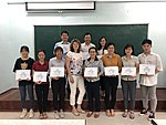 2019 Oct - Molecular methods course in Hue - Jelena Štšepetova