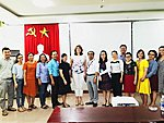 2019 Oct - Molecular methods course in Da Nang - Jelena Štšepetova