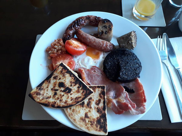 Full Scotish breakfast