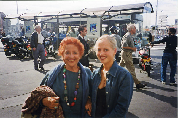 Teresa Berganza and Angelika Mikk