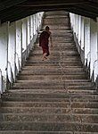Thaton, climbing the stairs