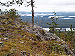 view from Karhunkierros trail, Finland
