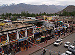 Leh, one of the main streets