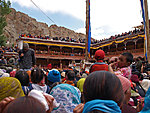 crowd in Hemis
