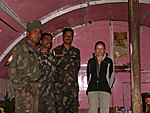 visiting the Indian army