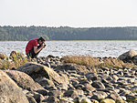 taking pictures of rocks