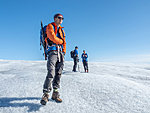 Lauri, guide in Greenland