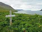 grave of Fjalla-Eyvind, the most famous outlaw of Iceland