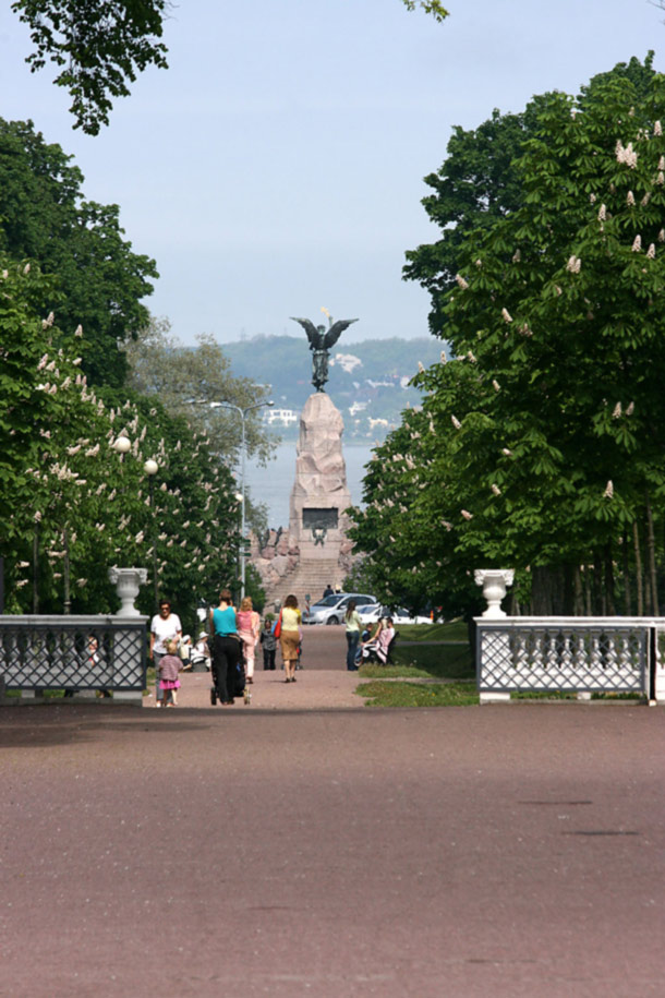 Russalka. Photo: Kadriorg Park