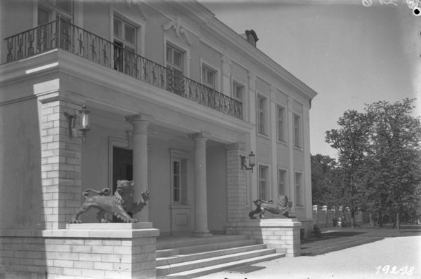The administrative building of the Office of the President 1939