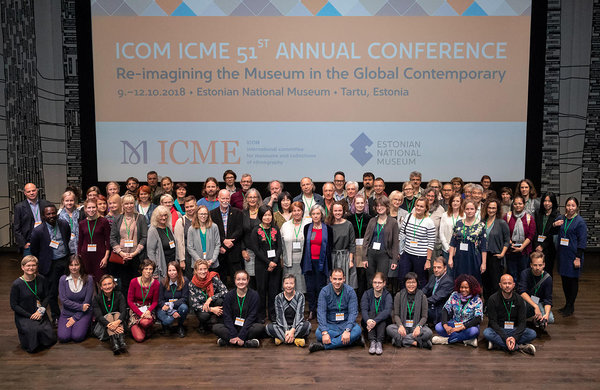 ICOM ICME 2018 Group Photo. Photo: Arp Karm, ENM