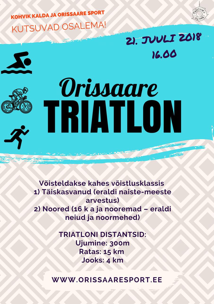 Orissaare TRIATLON @ Orissaare | Orissaare | Saare maakond | Eesti