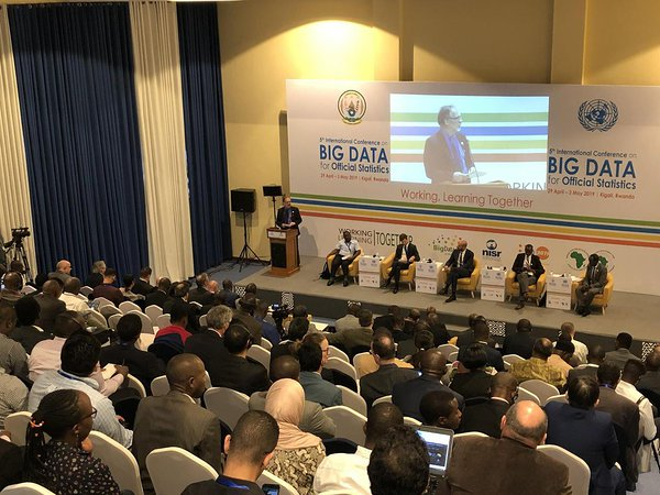 United Nations Big Data Conference in Kigali, Rwanda panel with Ronald Jansen