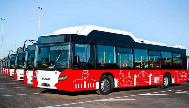 From 1 July 2019, 64 new gas buses will begin travelling along Tartu's urban lines. Photo: Joonas Sisask