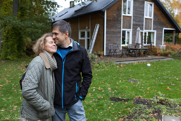Eeva and Erki have built a strong family and a home in their 16 years long marrage