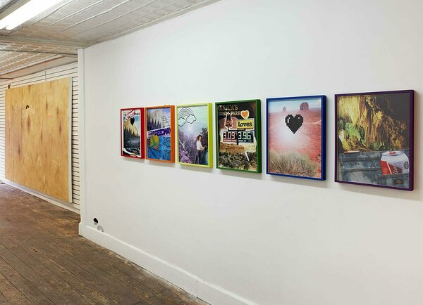 Installation view, New Release Gallery, 2020