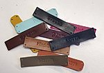 leather name labels stella soomlais