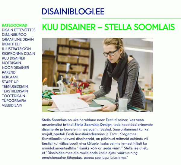 56ad44b922b Meedia — Disainer Stella Soomlais — meeste ja naiste nahast kotid ...