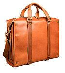 brown leather briefcase stella soomlais