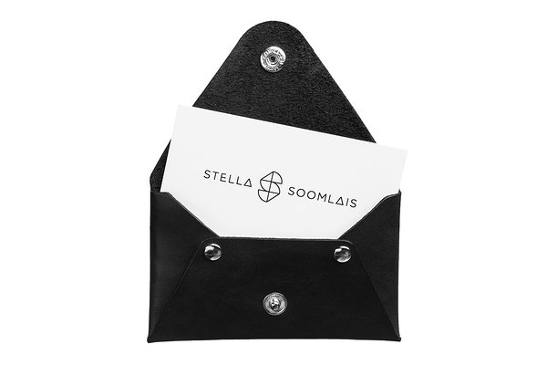 business card holder stella soomlais estonian design