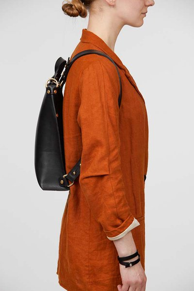 leather backpack rucksack handbagstella soomlais