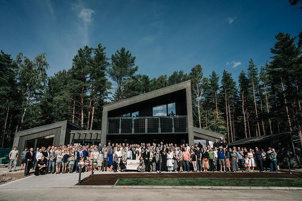 Estonian Open Air Museum´s new museal, a contemporary timber house. Photo: Jelena Rudi