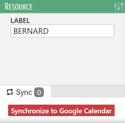 google calendar syncronization