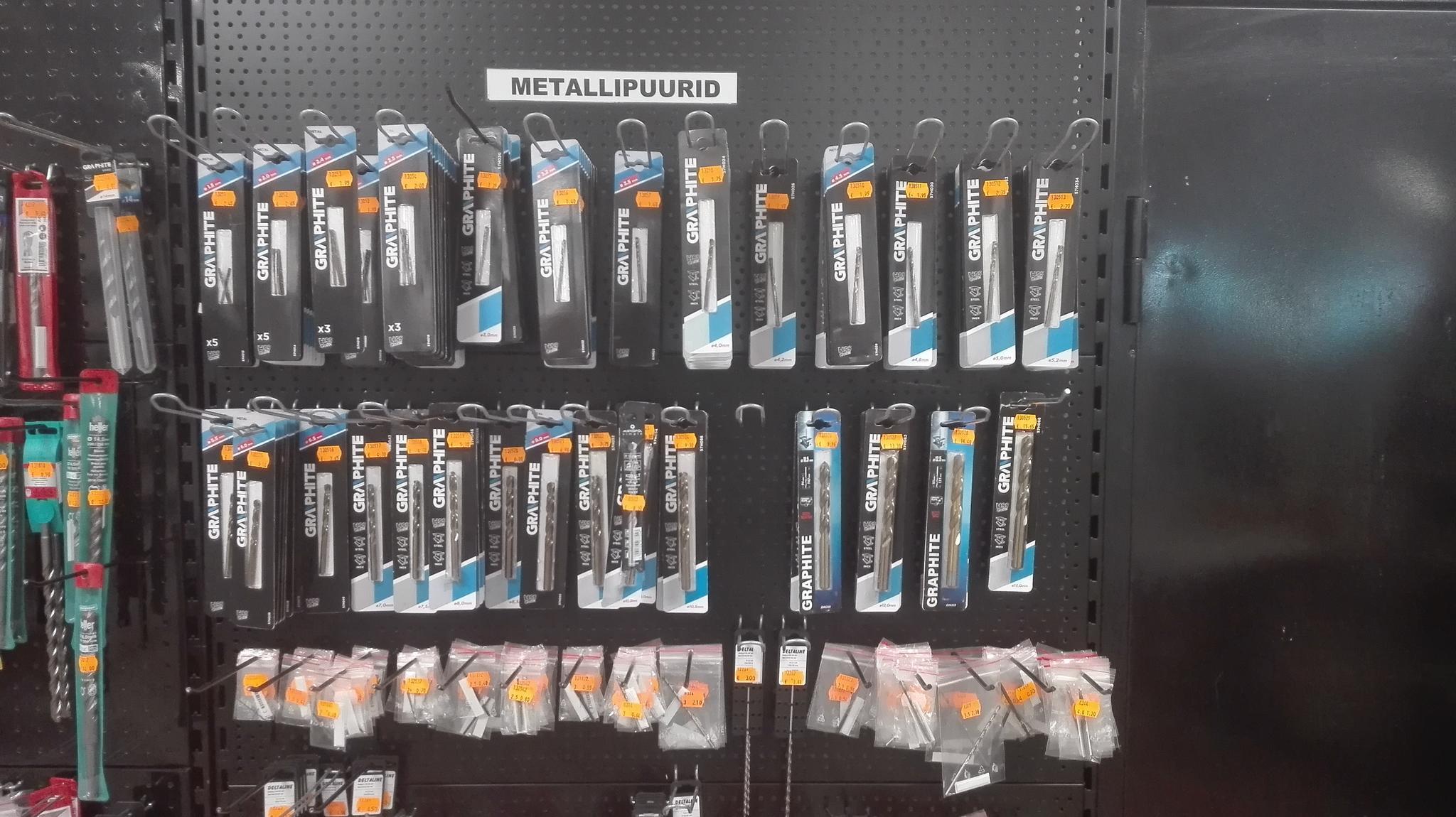 b0be7e0418a Tööriistad ja nende tarvikud. Töökaitsevahendid.