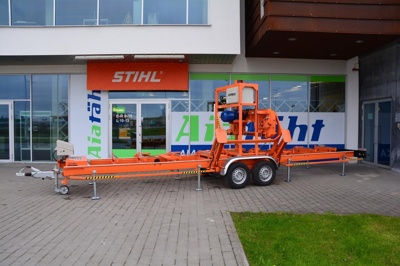 Wirex sawmills, sharpeners, setters   CZ-1/M mobile