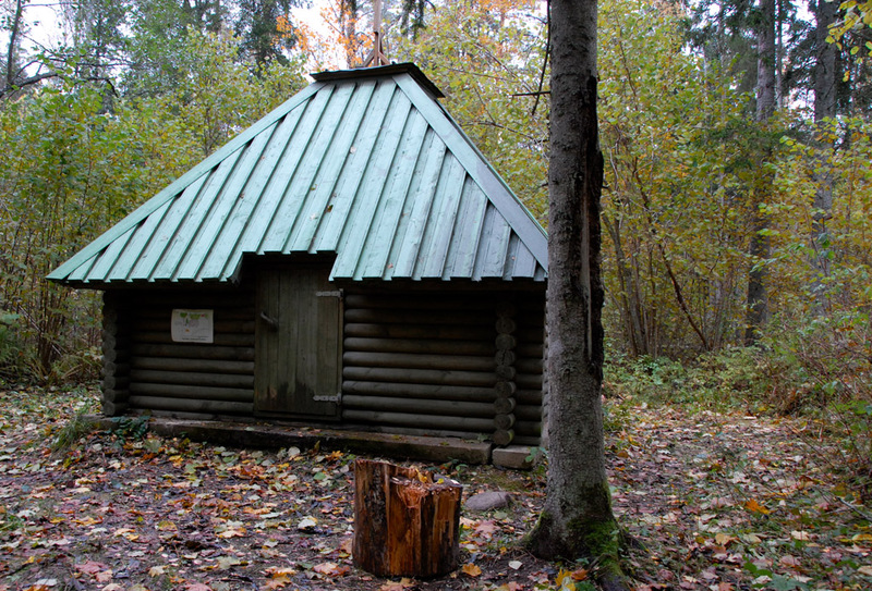Laiksaare forest hut