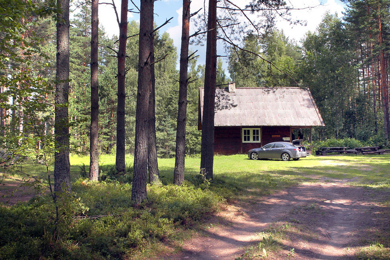 Luige rental hut near Värska town