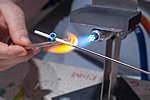 Flameworking studio