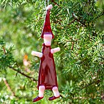 Hanging ornament ELF, red