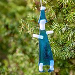 Hanging ornament ELF, blue