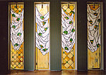 Stained glass windows, private house. Valev Sein