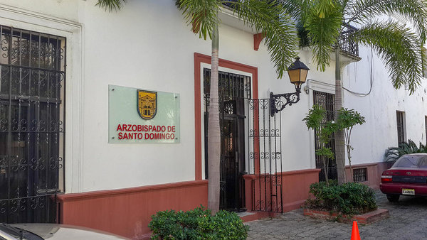 The archbishopric in Santo Domingo whose files have many old baptismal records from all over the country